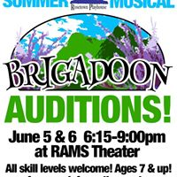 Auditions for Rosetowns Brigadoon