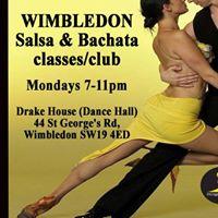 Every Monday Wimbledon Salsa &amp Bachata Club