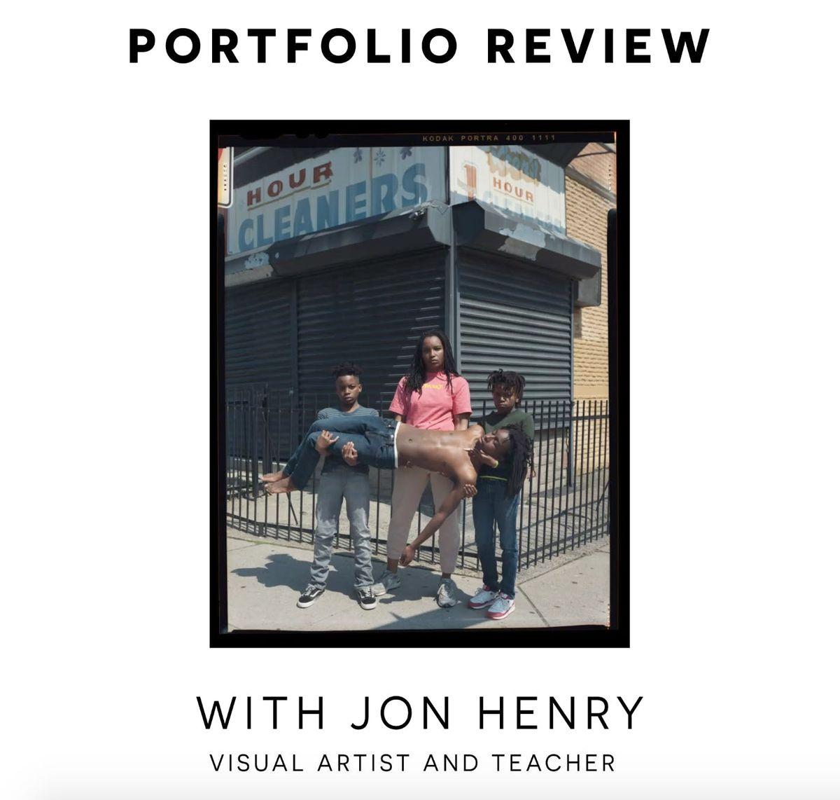Portfolio Review with Jon Henry