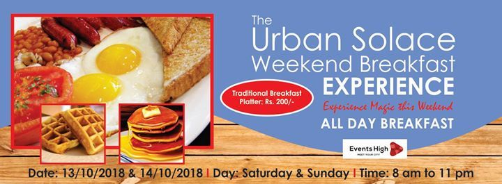 The Urban Solace Weekend Breakfast Cele Tion At Urban Solace Cafe For The Soul Bangalore