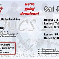 BC Swing Dance Club Special July Dance and flashmob lesson