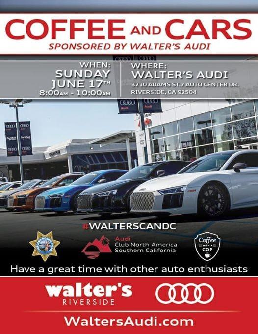 Walters Audi Coffee And Cars California - Walter audi