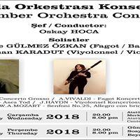 LBO Oda Orkestras 17 ve 18 Ocakta konser veriyor.