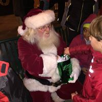 Santa Comes to Cooper Young
