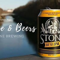 Balance &amp Beers at Stone Brewing