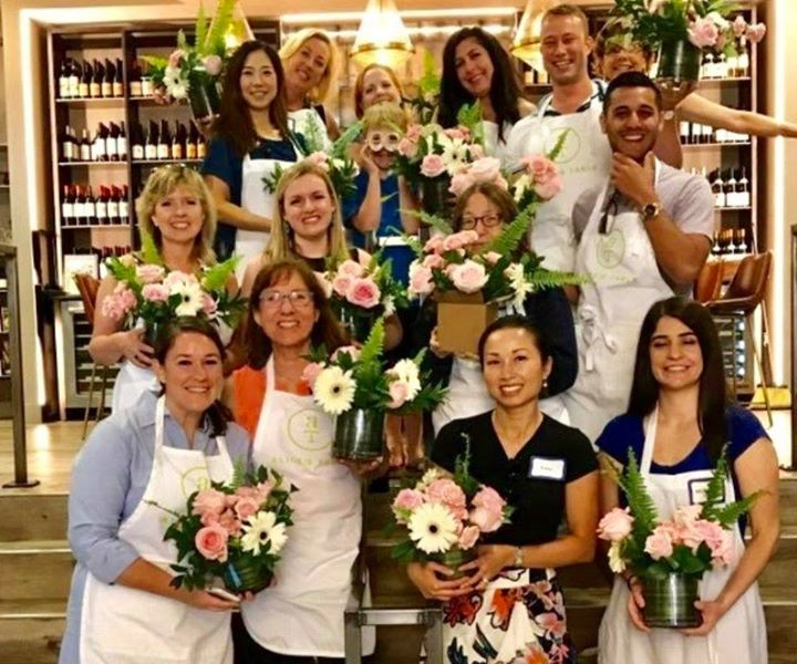 Springtime Blooms at Total Wine & More