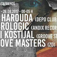 Andrologic&ampFriends pres. Teo Harouda Depo club ZG