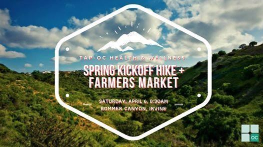 TAP OC - Spring Kickoff Hike & Farmers Market