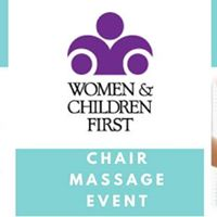 Chair Massages Benefiting Women and Children First