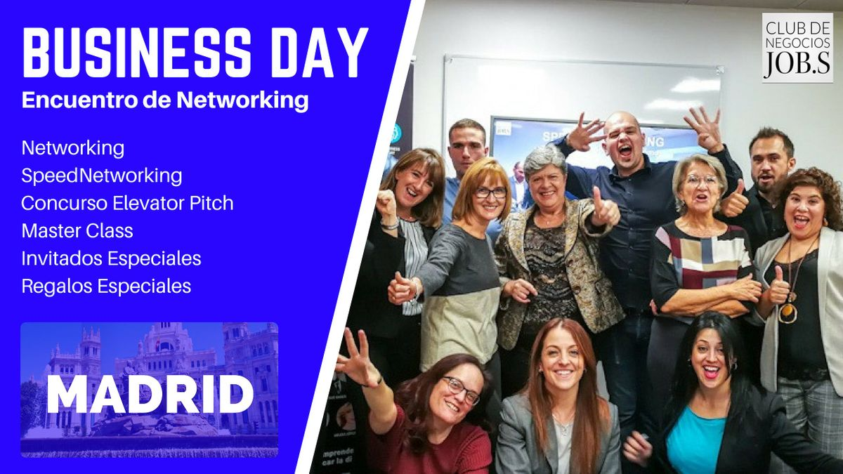18 Encuentro de Networking  Business Day