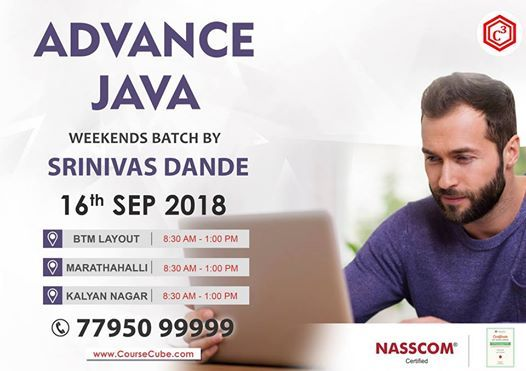 Attend Free Advance Java Demo on 16th Sep 2018