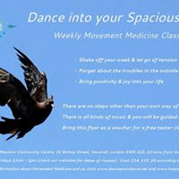 Dance into your Spaciousness