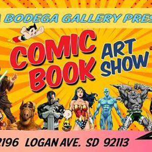 COMIC BOOK Art Show