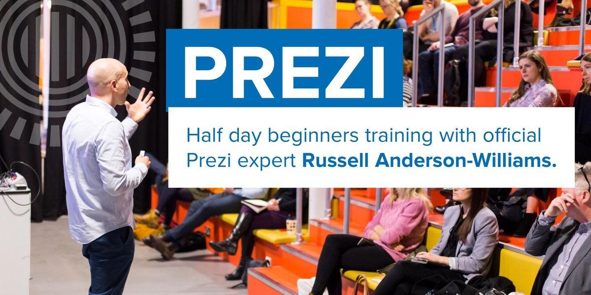 Prezi training for beginners Mar 27