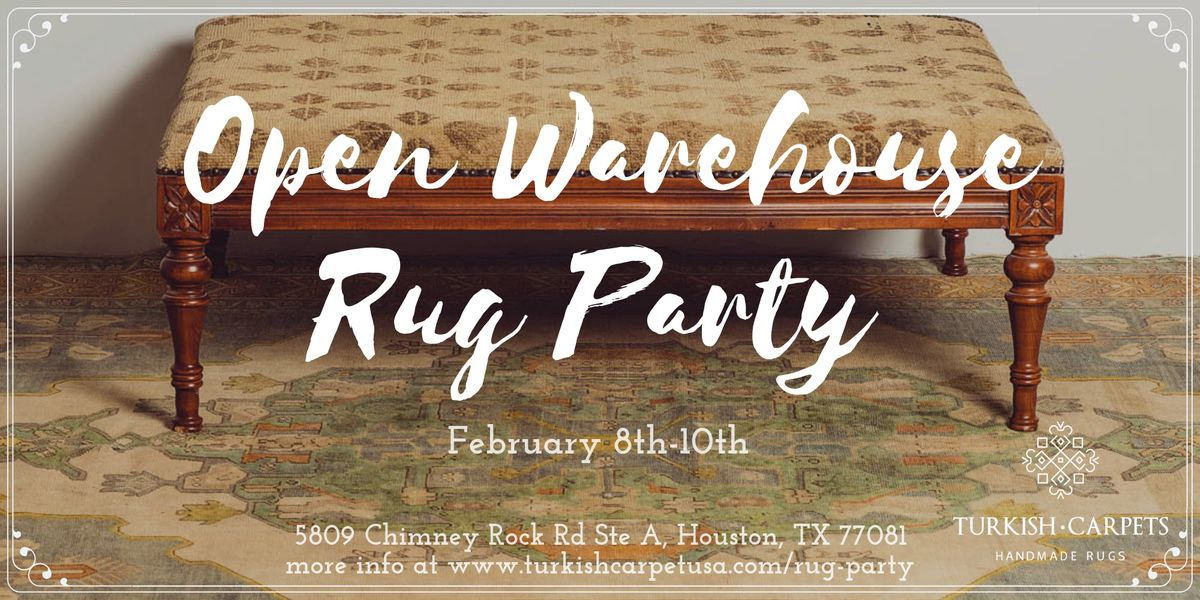 Open Warehouse Rug Party
