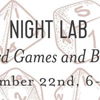 Night Lab Board Games and Booze