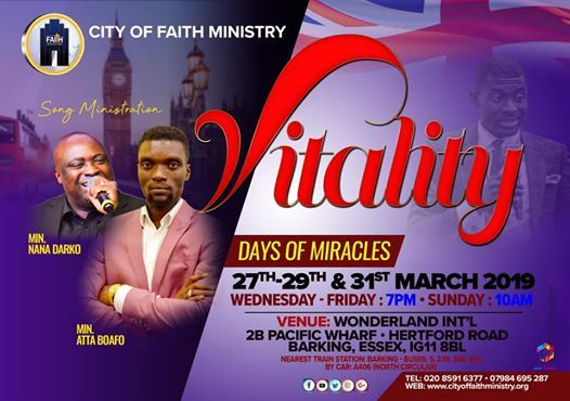 Vitality  weekend of miracles