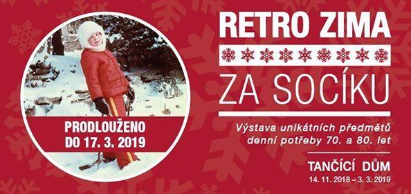 Vstava Retro zima za socku v Tancm dom
