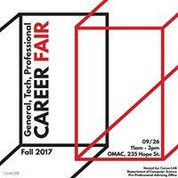 General &amp Tech Career Fair