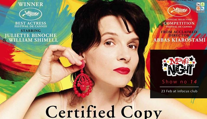 Certified Copy show no 14