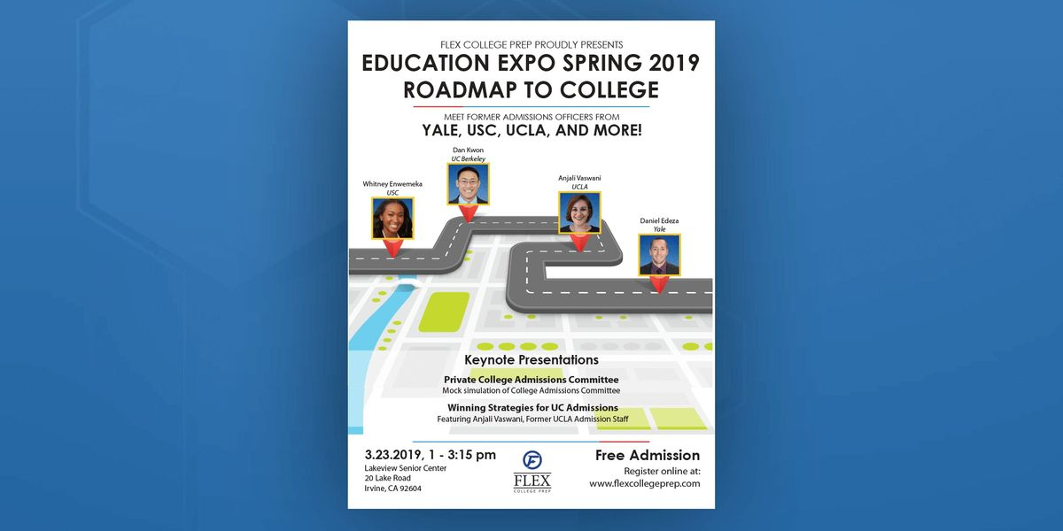 FLEX Education Expo Spring 2019 Roadmap to College