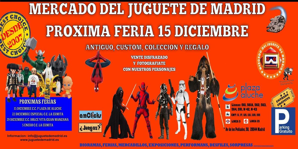 Tienes el traje de Super-Hroe preparado El sbado 15 de diciembre vente con el puesto al encuentro de Hroes y Villanos.