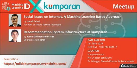 Meetup Machine Learning ID X kumparan at KumparanJalan Jati