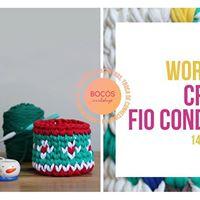 Workshop Croch Fio Conduzido