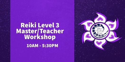 Reiki Level 3 MasterTeacher