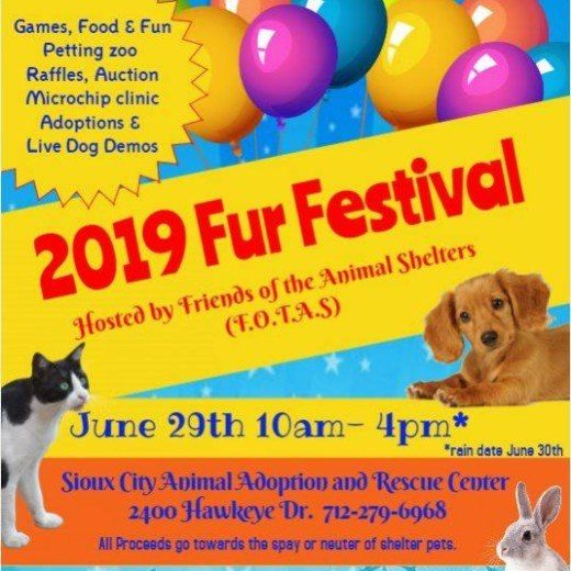 Fur-Festival at Sioux City Animal Adoption And Rescue Center
