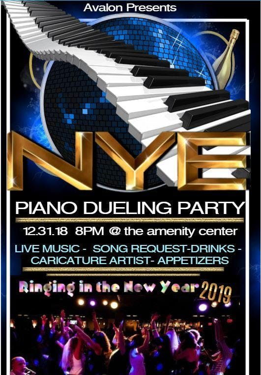 New Years Eve Piano Dueling Party