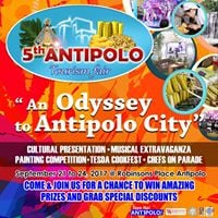5th Antipolo Tourism Fair &quot An Odyssey to Antipolo City&quot