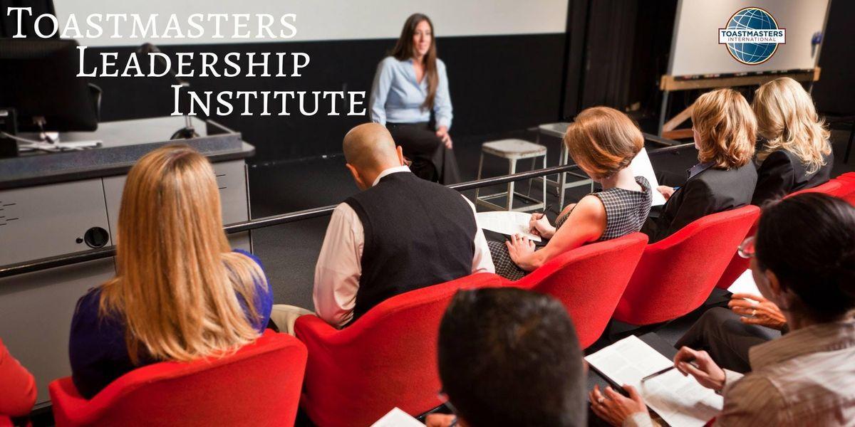 Toastmasters Leadership Institute (TLI) Cincinnati Winter 2019