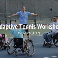 Youth Adaptive Tennis Workshop