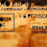Chopada de Quinta - Beba e Coma a vontade por R4490