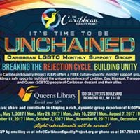 Unchained Caribbean LGBTQ Monthly Support Group