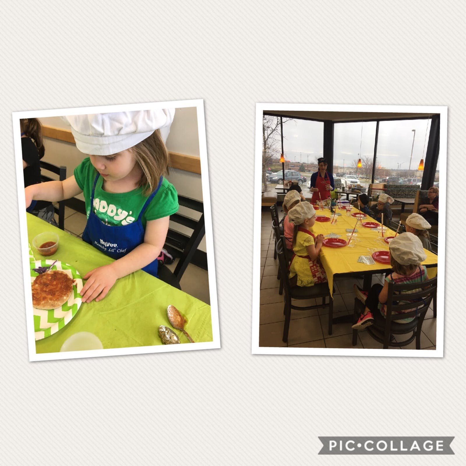 70th & Pioneers Hy-Vee Lil Chefs - Mediterranean