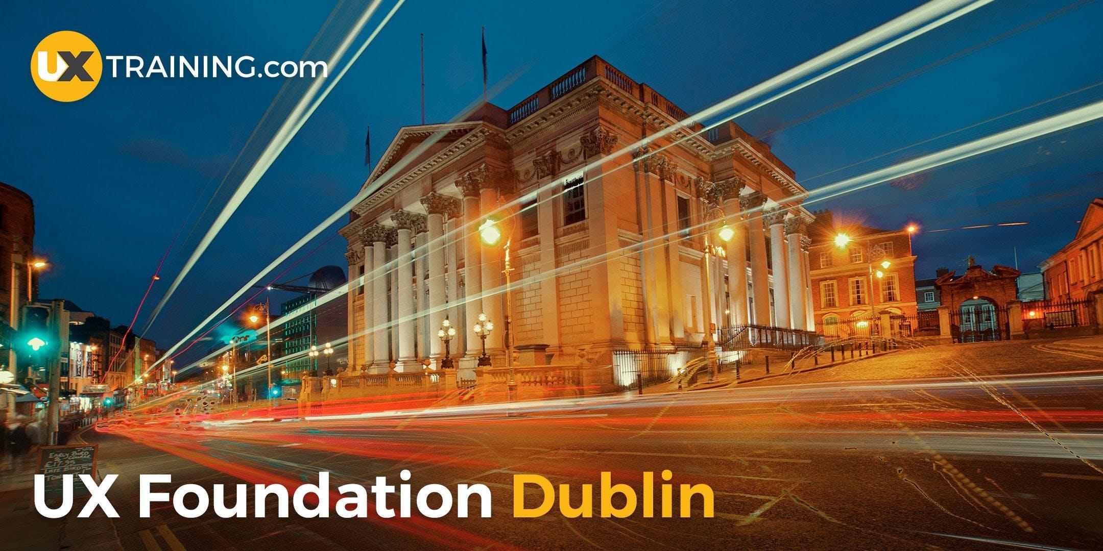 UX Foundation Training  Dublin  June 2018
