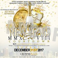 Annual Ultimate Elegant NYE Party 2017