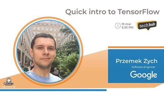 Quick intro to Tensorflow