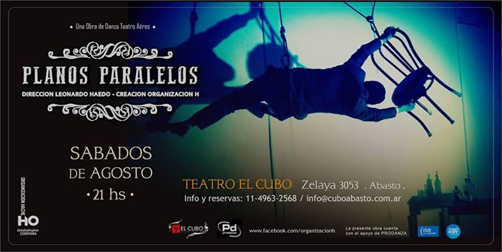 PLANOS PARALELOS- Teatro y Danza con Arns