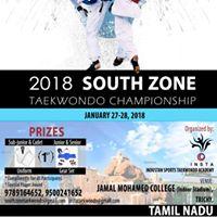 Taekwondo 2018 South Zone Championship