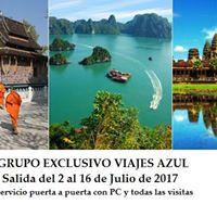 Grupo Exclusivo Camboya y Vietnam con gua acompaante