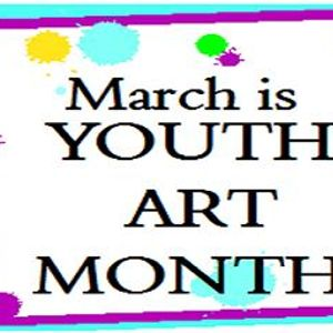 This is the image for the news article titled Youth Art Month