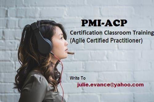 PMI-ACP Classroom Certification Training Course in Modesto CA