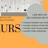 Kurs i deltakende metoder for frivillige organisasjoner
