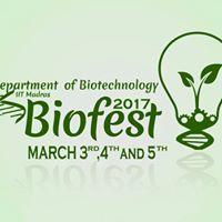 Biofest 2017 IIT Madras