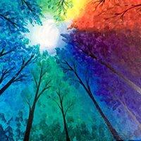 Montanas Painting Night Niagara Falls