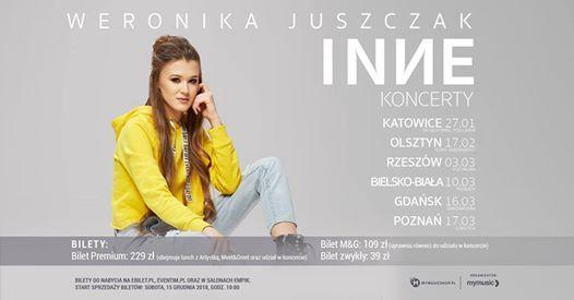 Weronika Juszczak  INY Koncert  Bielsko-Biaa