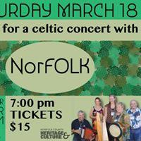 Celtic Concert with NorFOLK